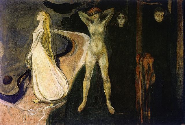Munch, Edvard - Woman in three stages - 1894