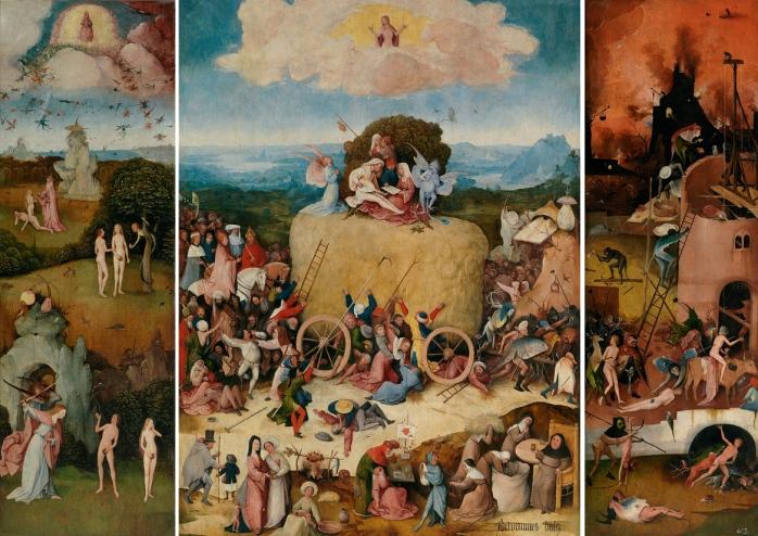 Jheronimus_Bosch_-_De_hooiwagen_(c.1516,_Prado)